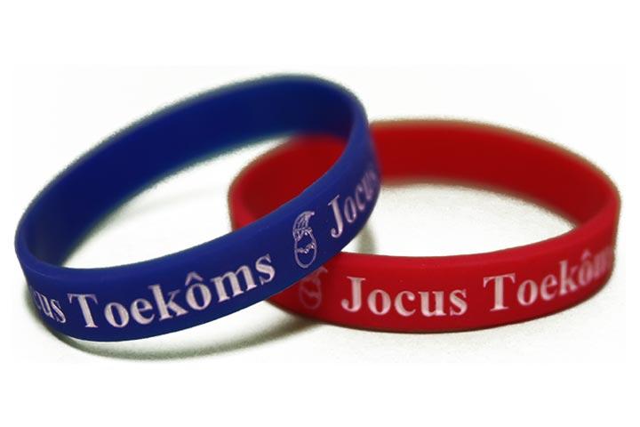 Jocus Toekôms polsbendje blauw